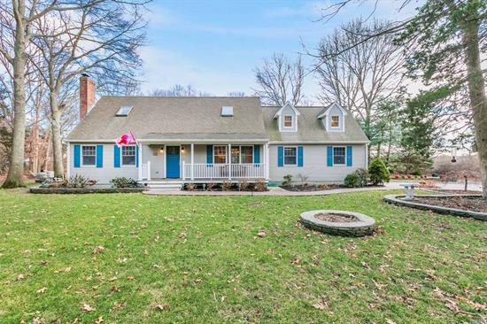 Updated Cape in coveted Westwood Acres. Ultra private wooded setting overlooks farmland. Thoughtfully updated & gorgeously Custom made Kitchen & Baths with every amenity imagined. You'll love having the spacious, finished bonus room & the 4 Season Glass Room overlooking the pool both w/heat & CAC. Formal LR w/fireplace, 3BR, 2 BA's, Oak Hardwood throughout, CAC, Gunite Mountain Lake pool, full basement & attached 2 car garage. Specimen trees & Pennsylvania bluestone walls defines the setting. .