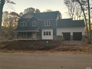 BRAND NEW CONSTRUCTION, 2400 SQ' WITH 8' FULL UNFINISHED BASEMENT, 4 BEDROOMS 2 1/2 BATHS , LAUNDRY ON 2ND FLOOR, STUDY, GREAT ROOM, BEATIFUL LOCATION. BREAKING GROUND APRIL 2020