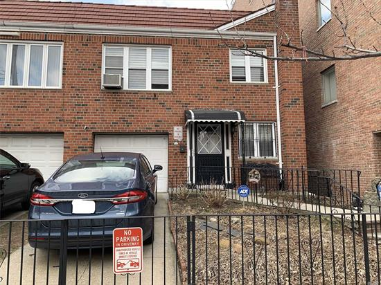 THIS SEMI-DETTACHED LEGAL 2 FAMILY HOUSE IS IN THE HEART OF ASTORIA... LOCATION LOCATION LOCATION... CLOSE TO THE CITY. PUBLIC TRANSPORTATION AS WELL AS CLOSE TO ALL LOCAL AMENITIES, RESTURAANTS, COFFEE SHOPS, BARS AND MUCH MORE...IT HAS A BEAUTIFULLY MANICURED FENCED IN YARD WITH ABOVE GROUND POOL. PRIVATE DRIVEWAY WITH A GARAGE AND SO MUCH MORE TO LIST!