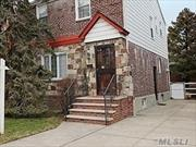 Amazing Opportunity for this Beautiful Fully Detached Brick Home on an Over Sized Lot. This Large Home Features a Great Eat in Kitch, Formal DR, Large LR, Full Bath, 3 Spacious Bedrms, Lrg Walk Up Attic and a Full Fin Basement with an Outside Sep Ent. Gleaming Hardwd Flrs throughout, Plenty of Closets and Endless Possibilities. Bright, Sunny and Spacious. Enjoy a Full Backyard with an Ext 3Car Drvewy. R4A Zone Which Can Be Easily Converted to a 2 Fam. Near All Transp and Mkts. Must see!!