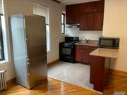 Direct From Investor. No Board Approval & No Application Fees. It Is Required To Have Good Credit Score & Proof Of Income from Tenants. Also, We May Accept More Rent Upfront And Extra Security Deposit To Be Agreed Upon. Th One Br Apt With Euro EIK/LG LR. 1/2 Block Subway 5 Mins To Manhattan. Laundry in basement open 24Hr. New Elevator & Marble Lobby Bldg