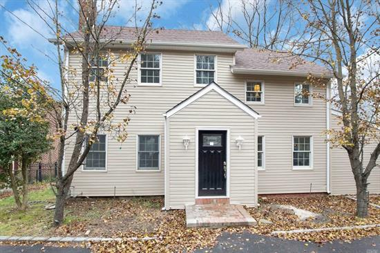 Completely updated colonial on huge lot. Large master bedroom with lots of windows overlooks park like yard. Versatile main floor with formal living room and dining room plus 2 additional living spaces perfect for office and play area. New instant on demand gas hot water heating system