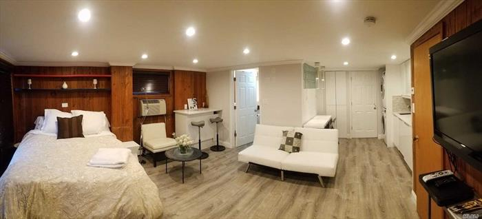 Beautiful Studio For Rent In Rego Park. Renovated, Modern Bathroom And All Utilities Are Included! Convenient Location, Close To Public Transportation, Stores And Restaurants. Rent Including Cable, Internet, Water, Gas, Electricity. Laundry In The Unit. Just Bring Your Toothbrush And Move In.