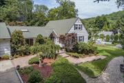 Beautiful Home on Unique Private Setting in Renowned Cold Spring Harbor School District #2. Entertainers' Delight. Multiple Brick Patios, 3 Koi Ponds, Oversized Salt Water Pool & Specimen Plantings. Convenient to Shops, Restaurants, Library & Museums. Private Beach & Mooring Rights At Eagle Dock Beach (With Fee).