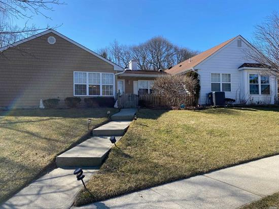 Lovely Ranch in 55+over Country Village - feature EIK, LR/DR Combo, 2 Full Baths, Laundry Rm, 1 Car Garage. Ammenities Include Pool, Tennis, Jitney Bus, Bocci, Clubhouse.
