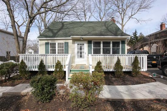 New to the Market.4 Bedroom Cape in Ronkonkoma. Updates Through-out. Updated Kitchen, Flooring, New Outside Above Ground Oil Tank, Updated Bathroom, Washer - Dryer on the Main Floor, Updated Electric,  - Move in Condition. Connetquot Schools, Close to Transportation, LIE and LIRR.