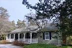Two for the price of one. Rebuilt in 1998 by Oak Gentry, this 1, 600 square foot Ranch is comprised of a 1BR, 2BA main house with kitchen, dining area and a living room with a woodburning fireplace. The bonus is a legal 1BR, 1BA attached apartment, complete with kitchen and a living room. Rafters are in place for expansion. Brand new hot water tank, 5 year old deck, 20 year old roof, central air conditioning and low taxes.