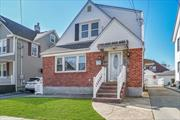Ctr Hall Cape Located in the Inc Village of Floral Park. 4Br, 3Full Bths, All Formal Sized Rms, Updated Kitchen/Granite/Tile/SS Appl's, Updated Bths, Central A/C, Gas Cook/Heat, Fully Finished Tile Bsmt w/ Full Bth w/ Outside Entrance, 200 Amps, HW Heater 2mo New, Private Fenced Yard W/ Det Garage. Security Lighting, Minutes to Shopping/LIRR/Elementary School/Mass Transit/Dinning.