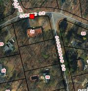 The Only Buildable Lot In Shoreham Village!! Build Your Dream Home On This Large, Level . 76 acre Parcel In Shoreham Village With All Village Amenities......Private Beach, Tennis Courts, Beautiful Club House. Land Is Being Sold As Is!