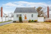 Larger Than It Appears 4 BR, 1 Bath Cape on a quiet Block. Full of Updates. Rear Extension Offering Dining Room/Den Area. Plenty of Living Space. Newly Renovated Bath, Kitchen and Many Other Parts of The House. Low Taxes.