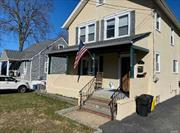 Legal 2 Family in the heart of Oyster Bay. Living/Dining Room combo, 2 bedroom, full bathroom. New appliances, New wall to wall carpet. Close to village, beach and train.