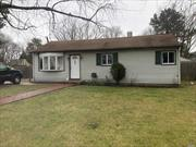 ***NEW LISTING****FULLY UPDATED 4BEDROOM RANCH 1BATH, GREAT STARTER HOME WITH HUGE LANDSCAPED BACK YARD!