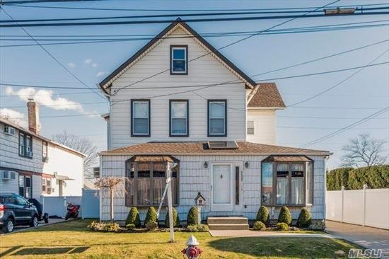 legal 2 family colonial if owner occupied 1 bed 1 bath apartment over a 2/3 bed 1.5 bath apartment as a 1 family it would be a 6 bed 2.5 bath in ground pool with large garage with stand up attic