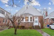 4 bedroom Cape, dining &living room, full bath. close to all, gorgeous hardwood floors, freshly painted, large yard, , oil heat. . . . ready to move-in!. Gas cooking in kitchen, newer roof. Q36, Q46 and QM5/8/35 Express Buses, shops, NSLIJ nearby Queens county Farm Museum, Douglaston Golf. . great location!