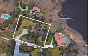 Being Sold AS IS. Structure in poor condition. Renovate or build new on this .74 acre lot with pool and waterview.