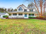 Colonial Style Home. This Home Features 3 Bedrooms, 2.5 Baths, Formal Dining Room, Eat In Kitchen, Den w/fplc & 3 Car Garage. Centrally Located To All. Don't Miss This Opportunity!