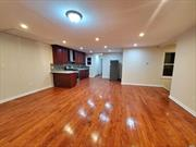 Fully renovated apartment with all new appliances. Huge beautiful 2 bedrooms, located in the heart of Jamaica. One block from F train and public transportation and close to all community amenities. Cross the street IS 238 Susan B. Anthony School and very close to PS 95 Eastwood.