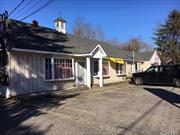 High Traffic Location, 175 Feet Road Frontage, 1/2 Acre Commercial Lot, Low Taxes ($7710), Approx.2400 Sq Ft Building and Yard Space