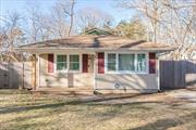 Renovated in 2018! Move Right in to this In-Line Ranch Featuring a New Eat-in-Kitchen with Quartz Countertops, White Shaker Cabinets and Ss Appliances. Spacious Living Room. 3 Bedrooms. Updated Bath with Tile Surround and Large Soaking Tub. Main Floor Laundry. Wood-look Flooring Throughout. High Hats. Private, Fenced in Yard. Taxes only $6, 836 with STAR.