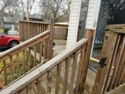 Cute house fenced yard and deck and part finished basement an NO Garage. Pets Considered.
