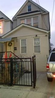 Excellent Starter house, Close to all amenities, excellent for commuters to manhattan. Well maintained house , Private Driveway , 1 Block from Lefferts train station. Recently Updated Roof, Siding Boiler and Hot Water Tank.