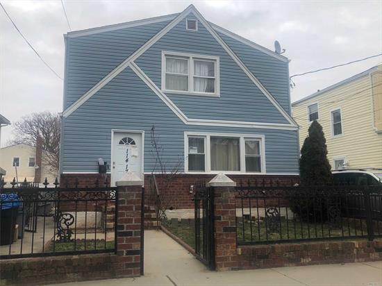 2 Family detached with private driveway Lot size 40x100  1fl 3 Bedrooms, Living room/Dining room, Kitchen, full Bathroom 2 fl 2 Bedrooms, Living room/Dining room, Kitchen, full Bathroom  Fininsh Basement