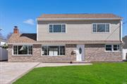 This Completely Updated Colonial in S. Bellmore Has It All! Open Concept, Tons of Natural Light.1st Floor-Designer Kitchen W/ SS Appliances, Gas Cooking, Sliders To Massive Patio, H/W Floors, Wood Burning FP, DR, LR, 2 Br's, Lndry Rm, & Office.2nd Fl-Master BR w/En-Suite, Huge Walk In Closet/Dressing Room, 2 Br's, Full Bath, Attic. Navien On Demand H/W, CAC (2 Zones). Brand New Plumbing/Wiring/New Svce (200 Amp) Kennedy HS, Close To All, Huge Backyard! Taxes Being Grieved! Zone X-Flood Not Req.