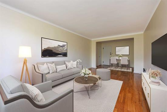 Welcome to the Colorado Bldg! Perfectly located near all restaurants, bars, cafes & shops that line Queens Blvd and Austin St. This spacious sunlit 1Br offers a generous entry foyer that flows into the expansive living room with large widow facing eastern exposure, hardwood floors throughout, Separate windowed EIK, windowed bathroom & a full size Br. with ample closet space. Doorman & Super on Site. Public transportation options include R&M local & E&F Xpress Subway and several public bus line.