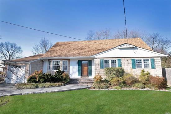 Spacious and bright 6 Bedroom, 2.5 Bath Farm Ranch. Beautiful curb appeal. Roof, gutters and soffits updated 2017. Oil Burner 5 yrs old. Just add your personal touch to make your dream home! Large yard perfect for entertaining!