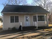 Opportunity Knocks With This 3 Bedroom 1 Bath Cape In The Tangiers Section Of Shirley With Room To Expand On This .50 Acre Lot.
