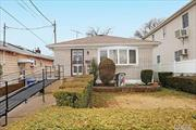 Amazing Opportunity for this Beautiful Ranch on an Over Sized Lot in Howard Beach. This Home Features a Gorgeous Eat in Kitchen, Formal DR, Large LR, Full Bath, 3 Spacious Bedrms and a Full Basement with an Outside Sep Ent. Gleaming Hardwd Flrs Throughout Under Carpet, Plenty of Closets and Endless Possibilities. Bright, Sunny and Spacious. Enjoy a Large Backyard with an Extended Drvewy. Updated Boiler, Water Heater, Electric and Many More. Near All Transp and Mrkts. Must see!!