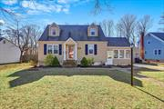 Beautiful Charming Expanded Cape. 3 Bed, 1 Bath, Full Basement with Outside Entrance plus Bonus Sun Room. 1 1/2 Car Det Garage on 1/4 Acre. Perennial Gardens, Green House. Low Taxes. West Islip School District. Must See! Won't Last!