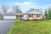 Lovely Bradford ranch in W-section of Coram. This home includes master suite with new master bath. Updated flooring throughout Great layout, move-in ready! Central air and 2 car garage all on a 1/3 acre of property!