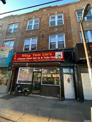 Excellent Investment Property. Great Location Mix-Used Building in the Prime Area in Richmond Hill. 1st Floor - Commercial Rental Space (Currently Chinese Restaurant), 2nd and 3rd Floor contact 2 Large two Bedrooms Apartments with Hugh Living room, Eat-In-Kitchen, and Bath. Must See.