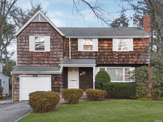 Lovely CAC Colonial in North Salem. 3 br. 2 1/2 bths. EIk w/ ose, FLR w/ frpl, FDR., Office w/ ose. Large Family rm w /FP, , Powder rm. Second Level: Master br.w/ sitting rm and bath. 2 additional brs and full bath. Full basement, partially finished. 1 Car Garage. Driveway, Top oven & range hood as is.