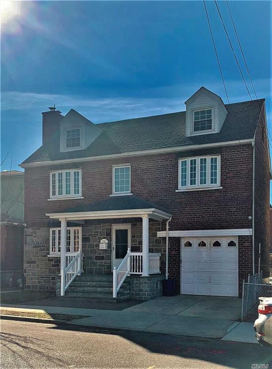 Legal Two Family Detached Brick Colonial on 40x100 lot with attached 1 Car Garage , Private Driveway , Large Rear Yard . Near NY Presbyterian Hospital , Transportation , Shops , Park. R4 Zoning.