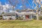 East Hills. Stately Center Hall Colonial Set On Flat Usable Property In Nob Hill, Impressive Grand Foyer Leads To Formal Dining Room, Living Room, Expanded Den With Fireplace. Updated Eat-In Kitchen And Baths . East Hills Park And Pool. MUST SEE