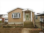 1 family detached on a large 40 x 100 lot with a private driveway located on a nice block in Queens Village. Needs TLC. Property sold AS IS with existing cars in the driveway and no representations or warranties and the buyer paying the transfer taxes. Buyer must verify all information.