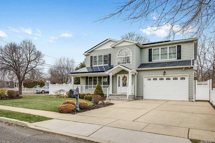 Better than New Construction! Just 8 Yrs Young 3, 000+ sqft, 4 Bed, 2.5 Bath Colonial has it all. A Huge Fin Bsmt with an Egress Door to the backyard, Custom Built ins in the closets & garage, Home Security Cameras both indoor & Out, pavr patio, and an all Stone outdoor Kitchen w Wine Fridge, Sink & BBQ. Laundry Room in the bsmt & upstairs level. An Ovrszed Corner Lot that is fully Fenced in. Solar Panels for Electric that are fully purchased and owned outright, not leased(No Cost 2 Future Buyer)