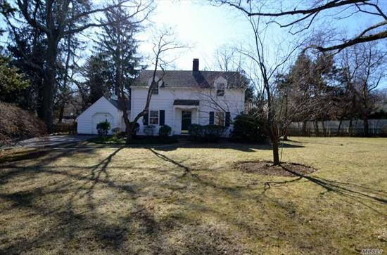 Great Opportunity to Live in North Shore Acres! Old World Charm Waiting for Your Loving Touch! On Gorgeous 2/3 Acre with In-ground Pool! SOLD AS IS! Needs Renovation.