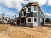 Malverne New Construction 2320 FT 4 Bedroom 2.5 Bath Colonial. Valley Stream North Schools. Master Suite. Den With Gas Fireplace. 2 Zone Gas Hot Air Heat. 2 Zone Central Air Conditioning. Attached Garage. Basement Egress Window. 0.4 Miles To Malverne LIRR.