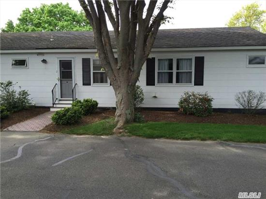 Easy Living 55+ Community. 2 Bed 1 Bath Co-Op In Colonial Village. Minutes To Shops, Restaurants In The Heart Of Southold