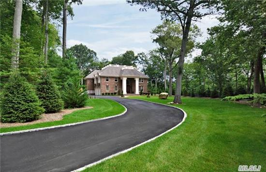 This Quality New Construction Is Located Off Rt 25A On A Private Rd Featuring A 350 Ft Driveway. Enter Through The Iron Gates To A Private 2.11 Acre Landscaped Parcel. Features Include A Gourmet Kitchen, Great Room W/Soaring 18 Ft Ceilings, Floor To Ceiling Windows & Stone Fireplace, Radiant Heat, Custom Moldings, Hardwood Floors, 3 Car Garage, Smart Home Wired, Call Now !