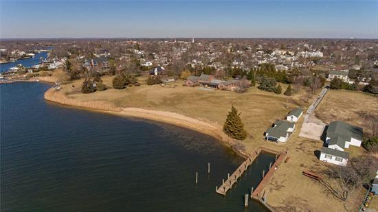 This 3.98 acre waterfront estate on the Carll's River is the last of its kind on the South Shore in Western Suffolk County. Only 60 minutes to NYC and 20 minutes to Fire Island, this estate provides an opportunity to enjoy a lifestyle that most can only dream of. Savor unobstructed Western sunsets over the Carll's River, and sail from your private boat slip dock into the Great South Bay.