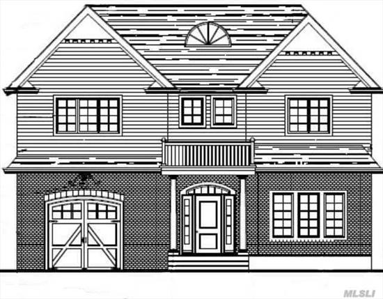 Old Woodmere RISING: LUXURY COLONIAL NEW CONSTRUCTION on 55x200 lot. This High-End Developer is flipping the Five Towns and this colonial proves they are sparing no expense for quality. 174 is striking. This 6500 sqft home includes a finished basement , 8 Bedrooms, and 5.5 Bathrooms . Optional in ground pool with finished patio and fence ($40K )additional. First Floor has 10ft ceilings and full basement w/8.7 ceiling height. Custom Eat in Kitchen with top of the line appliances with open concept to the den. First floor has a bedroom/office with full bathroom. No Flood Zone