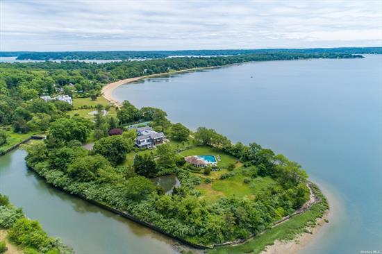 SPECTACULAR 8.71 WATERFRONT PROPERTY WITH NEARLY 1000 SQ. FT. OF OPEN OYSTER BAY HARBOR DIRECT WATER.SURROUNDED BY A 75-FT BOAT BASIN. THIS TROPHY RESIDENCE BOASTS ARCHITECTURALLY DESIGNED LANDSCAPING AROUND THE ENTIRE PROPERTY INCLUDING THE NEW TENNIS COURT, POOL, LG. POOL HOUSE AND SPA. ALONG WITH GEO-THERMALLY SUPPLIED IN-FLOOR RADIANT HEAT AND COOLING SYSTEMS AND SOPHISTICATED SECURITY THROUGHOUT. WILLOW CREEK OFFERS A LUXURIOUS LIFESTYLE IN A MAJESTIC WATERFRONT SETTING.