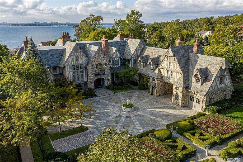 This Stunning European Inspired English Tudor Is Situated On Over 3 Acres Of Manicured Landscaped Property With Breathtaking Views Of Long Island Sound And Manhattan Skyline. It Was Designed, Built And Landscaped By Kean Developers And Featured In Architectural Digest And Many Other Publications. The Estate Features Approx. 13, 000 Sq. Ft. Of Living Space W/Magnificent Craftsmanship.