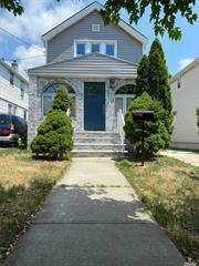 This Newly Gut Renovated Colonial is Located on A Quiet Tree Lined Street in Queens Village. The Home Features an Open Concept Layout on the 1st Floor with European kitchen cabinets with new top of the line stainless steel Appliances Living/dining Room half bath.2nd floor 3 bedrooms and full bathroom . Fully Finished Basement with full bathroom . Additional Features Include New Wood Floors Throughout, New Roof, Siding and Heating System New Boiler/Hot water tank .Private Driveway and Detached Garage. This Central Location is Near Highways, Shopping and Transportation. Best area of Queens village Two blocks Away from Hillside Ave
