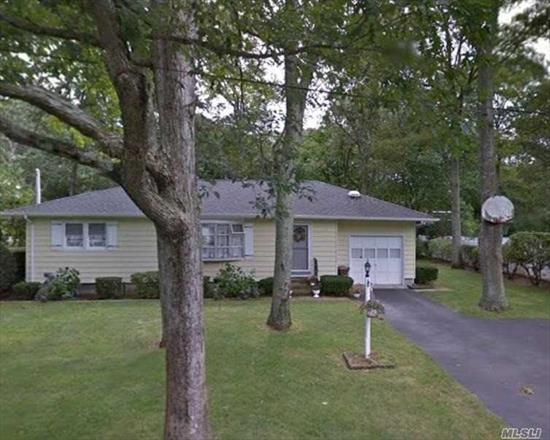 Beautiful 3 Bedroom, 1.5 Bath Ranch style home in Riverhead. Home features screened in porch, in-ground sprinklers & CAC. Minutes to the Aquarium, Town of Riverhead Main Street & Tanger Outlets.