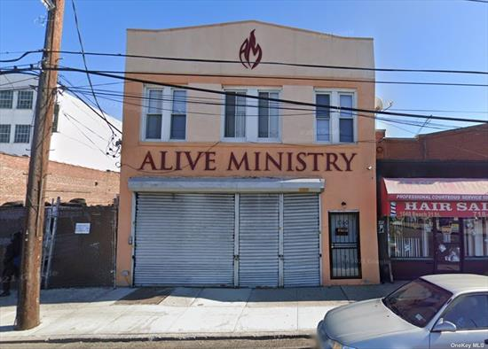 Great Opportunity! Store & Dwell Property In Prime Downtown Far Rockaway Location. Very Busy Shopping Area. Tremendous Commercial/Retail & Residential Development Underway And Projected. Close To Train, Buses, Railroad And Schools. Don't Miss It!